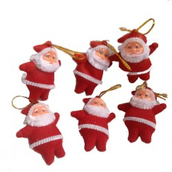 Lilone Christmas Small Santa (Pack of 6)