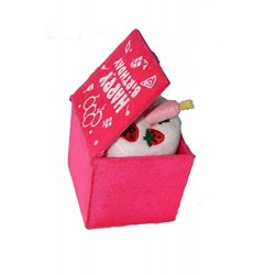 "Lilone ""Surprise Box"" Happy Birthday Music, Square Shape, Birthday Gift for Him / Her (Pink)"