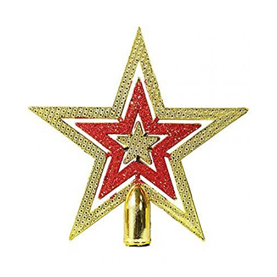 Beautiful Top Star for Christmas Tree Decoration