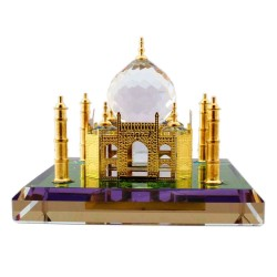 Crystal Taj Mahal Showpiece Home Decorative Miniature