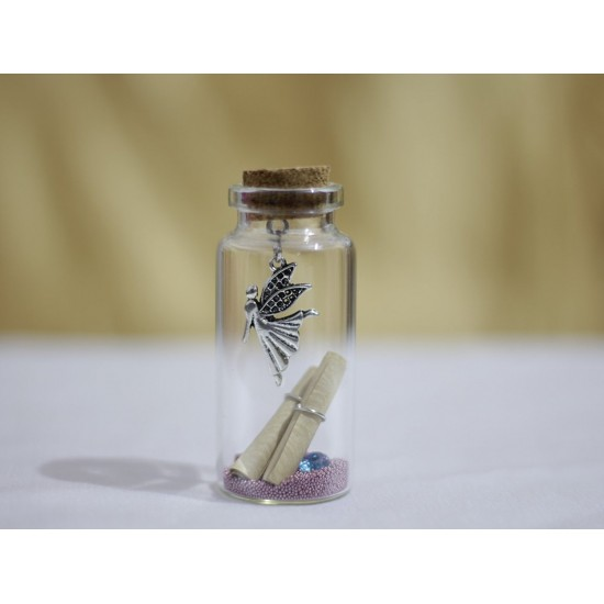 Lilone Little Message Bottle With Horse Decoration Small (Horse)