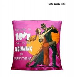 Lilone Falling In Love Design Pillow | Birthday Anniversary Pillows