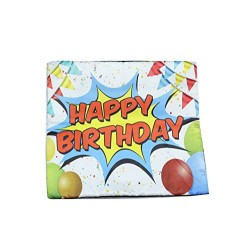 Lilone Birthday Special Quoted Cotton Decorative Ball Printed Pillow Gift