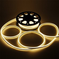 Waterproof Flexible LED Strip Light Flex Frosted Rope String