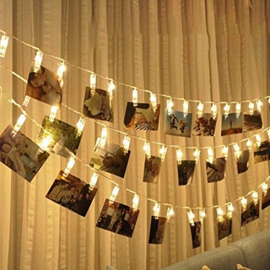 Photo Clip - 20 LED String Lights