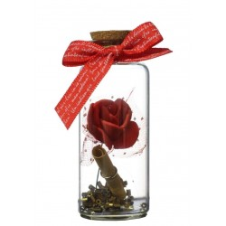 Lilone Rose Message Bottle