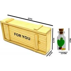 Lilone 7 PCs Message Bottle Set
