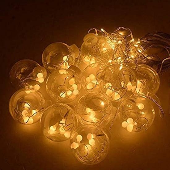 Curtain Lights 108 LED Bulb Globe Shape