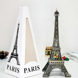 "6"" Metal Eiffel Tower Statue"