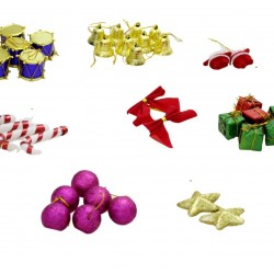 Lilone 37Pcs Christmas Tree Decoration Ornaments