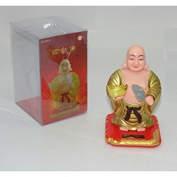 Lilone Feng Shui Solar Lucky Laughing Buddha - Wrist and Head Swing