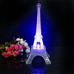 Lilone Metal Eiffel Tower with Light
