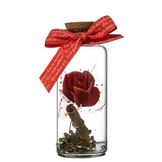 Lilone Rose Message Bottle Gifts