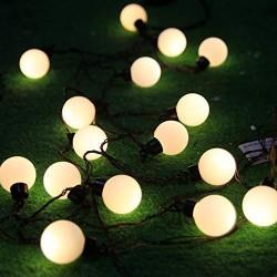 AtneP 20 Bulbs Shape String Lights (WarmWhite Color)
