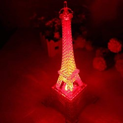 """Lilone 5"""" Eiffel Tower with Light"""
