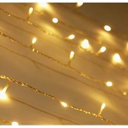AtneP 16 LED Rice String Lights Warm White