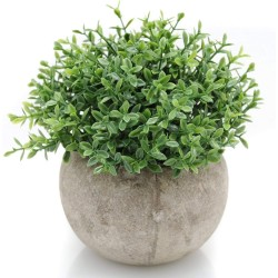 Lilone Mini Artificial Plants Benn Grass in Pot