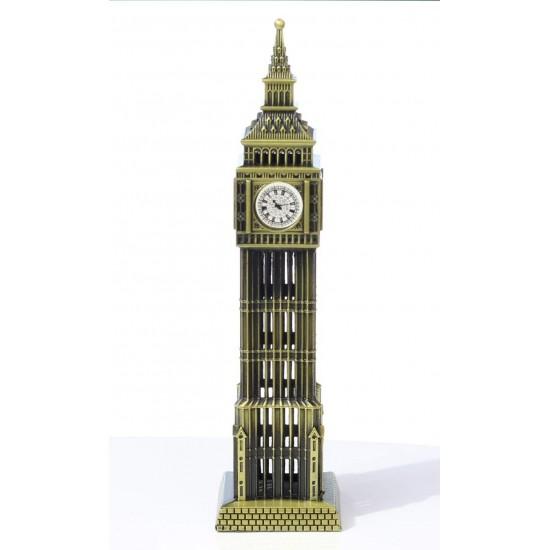 Lilone Metal Showpiece Combo - - Paris Eiffel Tower | Statue of Liberty | Pyramid | burjkhalifa|parisgate|cantontower |bigbenfor Home Decoration Items | Birthday